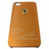 Чехол накладка Ferrari Ultra Thin Metal Case для Iphone 5 и  для Iphone 4/4s
