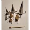 """Блесна """"Конус"""" ручной работы для отвесной ловли хищника - окуня,  щуки,  судака и т. д."""