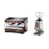 Газовая Кофемашина Magister MS 100 (Производства Италия)  + Кофемолка Cunill Space (Производства Испания)  для мобильной кофейни