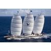 Модель самой большой современной парусной яхты Мальтийский Сокол