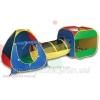 Игровая палатка для детей «Домики соединенные тунелем»