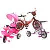 Детские трёхколёсные,  двухколесные велосипеды,  велосипеды с крышей
