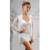 Халат для невесты и ночная сорочка для утренней фотосессии