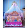 Высокая,   сплошная защита в кроватку новорожденного