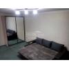 1-но комнатная чистая квартира,  Даманский,  все рядом,  шикарный ремонт,  быт. техника,  встр. кухня,  с мебелью,  +коммун. пл.
