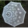 Ажурные вязаные зонтики для фотосессий