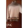 Продам шерстяной теплый свитер