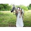 Продам стильное летнее свадебное платье