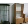 Продам торговое оборудование-б/у витрины магазина 2комплекта