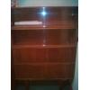 Шкаф книжный с полками внижу закрытыми БУ