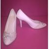 Свадебные туфли в отличном состоянии р-р 39-40