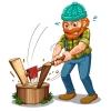 Требуется кольщик дров!