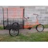 трехколесный грузовой велосипед для взрослых \ велорикша