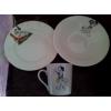 Набор детской посуды- далматинец