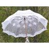Вязаный зонтик на свадьбу
