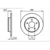 Задние тормозные диски BOSCH на MAZDA 3 (1. 6)