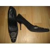 Замшевые туфли с вышивкой