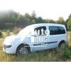 Установка (врезка)  боковых автостекол на автомобиль Renault Kangoo 08