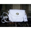 Новая!  кожа белая сумочка-кошелёк