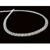 Очаровательная женская цепочка из серебра