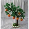 Дерево из бисера Персик