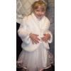 Продам Детское платье для утренника и Белая шубка
