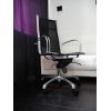 Кресло перфорированная кожа и хром для руководителя