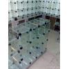 Ветрины кубик Соединения межу стеклами
